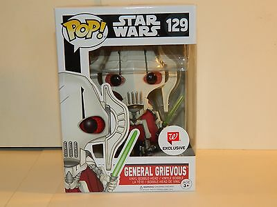 Funko POP! Walgreen's Excl. Star War ** GENERAL GRIEVOUS **  #129 vinyl figure