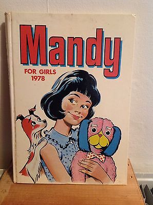 Mandy For Girls 1978 Annual (unclipped)