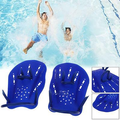 New One Pair Swimming Hand Paddles Fins Webbed Training Pool Diving Hand Gloves