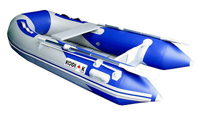 9 FT KODIAK SPORTSMAN BOAT Dinghy in a Duffle, Inflatable, raft, pontoon fishing