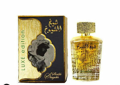 Sheikh Al Shuyukh Luxe Edition Ambery/Spicy/Woody by Lattafa 100ml EDP Unisex