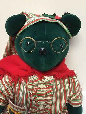 """Ebearneezer Scrooge"" North American Bear. The Very Important Bears w/hand Tag"