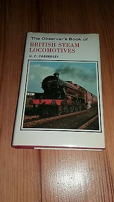 THE OBSERVER'S BOOK OF BRITISH STEAM LOCOMOTIVES - Casserley, H.C..