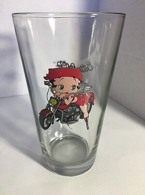 Betty Boop Drinking Glass Souvenir Mug Cup