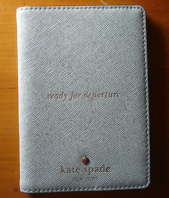 Kate Spade Cedar Street  Ready For Departure Passport Holder Leather Cover $78