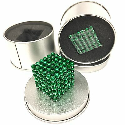 5mm Colorful 216 pcs Neodymium Super Magnetic, like Buckyballs- Green