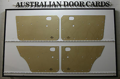 MAZDA RX2 616 / 618 Door Cards. Suit Sedan & Wagon. Blank Trim Panels