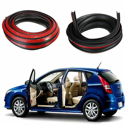P Type 1x 4M Car Door Rubber Seal Strip Noise Insulation Soundproofing Anti-dust