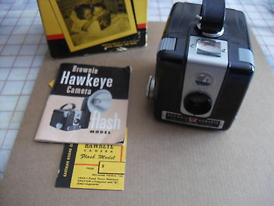 Vintage Brownie Hawkeye Camera Flash Model - Excellent Condition - With Box