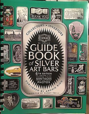 Silver Art Bars Guide 6th edition Book Bar Archie Kidd Rare Prices Mintages.