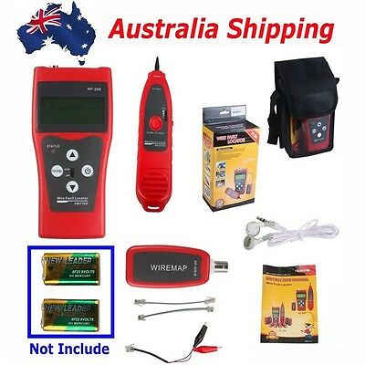 AU Ship NF-308 Multipurpose Network Ethernet LAN Phone Cable Tester Wire tracker