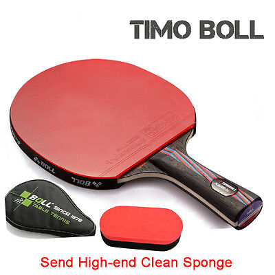 TIMO BOLL  9.8 Hybird Wood   table tennis Racket / Table tennis paddle