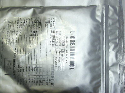 100 grams CREATINE HCL micronised 99.31% ( micronized )