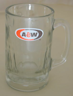 A&W Rootbeer Mug Glass