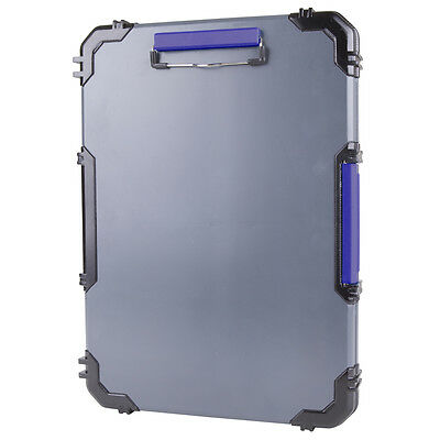 Kobalt Contractor Clipboard One Touch Spring Latch Protective Molded Corners