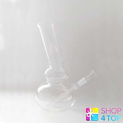 Small Mini Acrylic Water Smoking Bong Blue Transparent Tobacco Pipe New