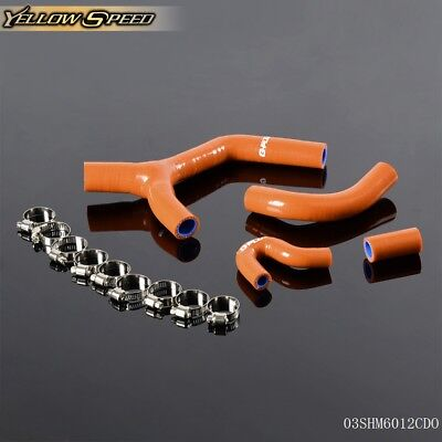For KTM 450EXC-R 530 EXC 07-10 2007-2010  Silicone Radiator Y Hose Kit