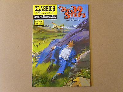 CLASSICS ILLUSTRATED No 44 (2012) - THE 39 STEPS by JOHN BUCHAN