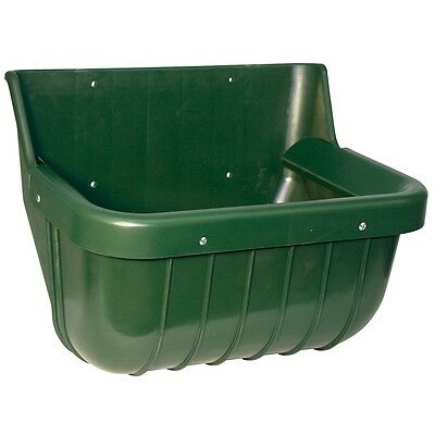 Kerbl Chicken/Poultry/Pet/Animal Feed Bowl Food Water Container Green 15 L 32582