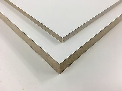 White Melamine MDF Sheets, Standard sizes and MDF Board Cutting Service