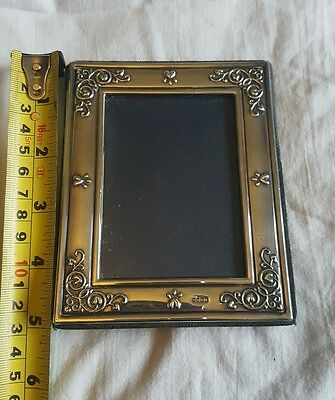 Vintage Carrs Of Sheffield Solid Silver Heart Photo Frame 5 x 4 inches 1994
