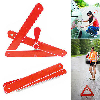 Car Emergency Tripod Reflective Automobile Traffic Folding Warning Stop Sign New