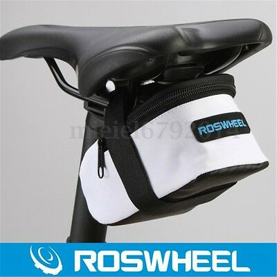 Roswheel Cycling Bike Waterproof Saddle Bag Wedge Rear Seat Bicycle Mtb Road New
