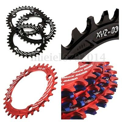 UK Single Narrow Wide 9/10/ 11 Speed Bike Bicycle Chain Ring 104 BCD 32 34 36T