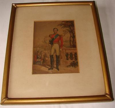 H R H PRINCE ALBERT PRINT Oil Colours by C Baxter