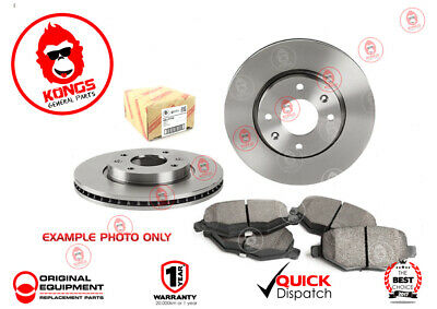 Front Brake Pad + Disc Rotors Pack for FORD FOCUS LR 1.4 1.6 1.8 2.0