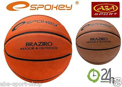 Spokey BRAZIRO Basketball Indoor Outdoor NBA Streetball Ball Größe/Size 7 Profi