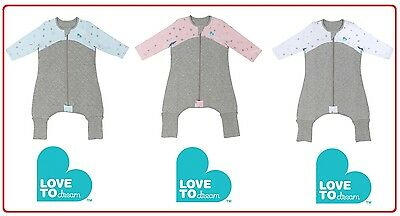 Love to Dream Swaddle WRAP ME UP Sleep Suit 100% Cotton Fillin 2.5 TOG SleepSuit