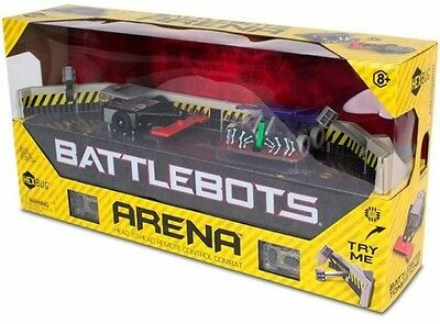 Remote Game Control Board PLAY Fold Out New Gift Figures Battlebots Arena (IR)