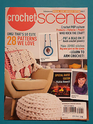 Crochet Scene Interweave Special Issue Abridged Edition 2017  1A abs. TOP