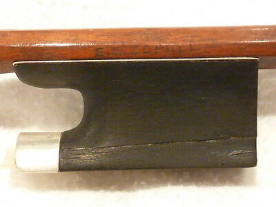 Private COLLECTION to SELL - 98: A good German VIOLIN BOW  - *E.W.ZOPHEL*