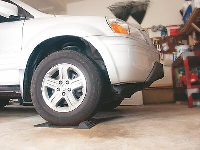 Accurate parking Car Garage Park Safety Curb Bump Stop Exact Home Mat Easy Black