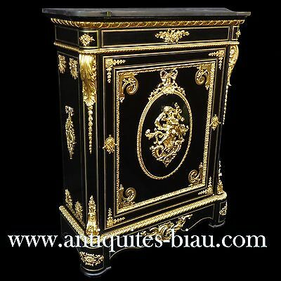 Antiques French Cabinet LXIV stamped VEDDER Boulle marquetry 19th Napoléon III