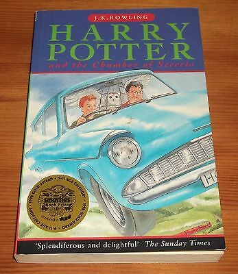 Harry Potter And The Chamber Of Secrets - First Edition / 1St Print - P/b