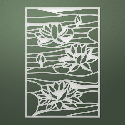 Artdeco Creations Ultimate Crafts Stained Glass Die-Lily Pond, 2.3X3.3