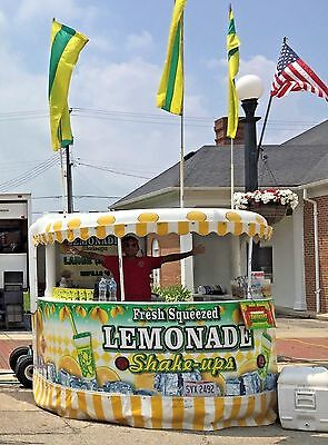 Lemonade Stand For Sale~Roll-O-Vend~Lemonade Stand For Sale