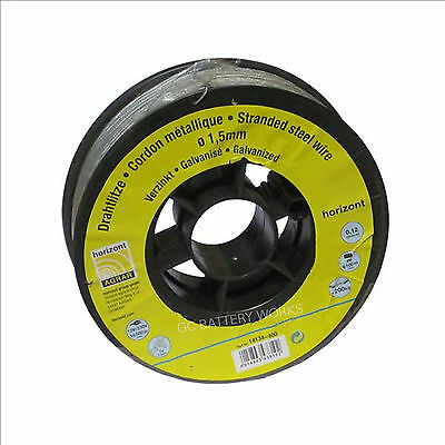 Stranded Fencing Wire 400M Electric Fence 1.5mm 7 Strand Galvanised (STRONG!)