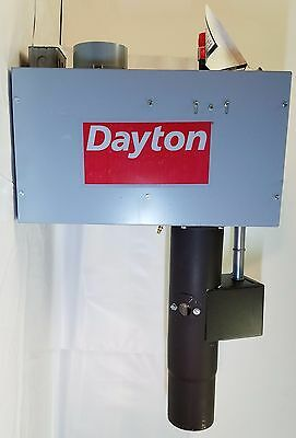 Dayton 5EAH5 Gas fired Radiant Tube Heater   (One of Two Parts)