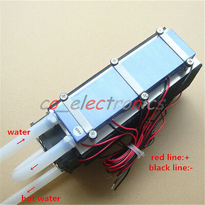 12V 576W 8-Chip TEC1-12706 DIY Thermoelectric Cooler Radiator Air Cooling Device