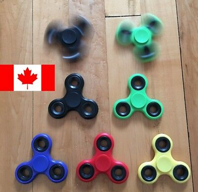 Fidget Spinner EDC Stress Relief Focus Hand Finger Toy For Kids Adults 5 Cols