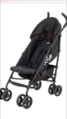 JOIE BLACK NITRO BUGGY/STROLLER And Raincover