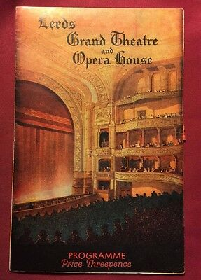 Leeds Grand Theatre & Opera House,  Programme, The Dancing Years - 1940