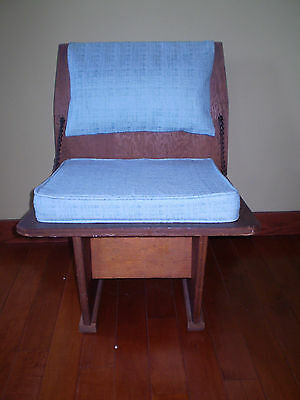 Authentic Mid Century Frank Lloyd Wright Unitarian Church Chair 1951 Very Rare.