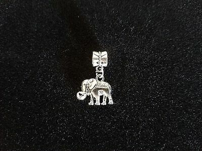 2 Elephant Charms For Bracelet Or Necklace Delta Sigma Theta