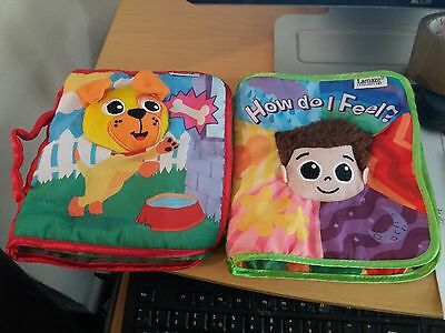 lamaze cloth books x 2