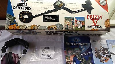 Whites Prizm V Metal Detector New Never Used In Original Box